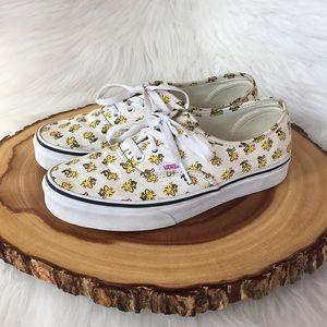 Vans peanuts collab sneakers